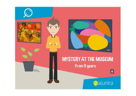 Mystery at the Museum - From 9 years