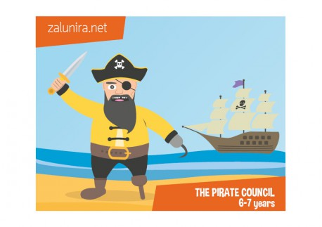 The pirate council - 6-7 years