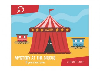 Mystery at the circus - 8 years and over